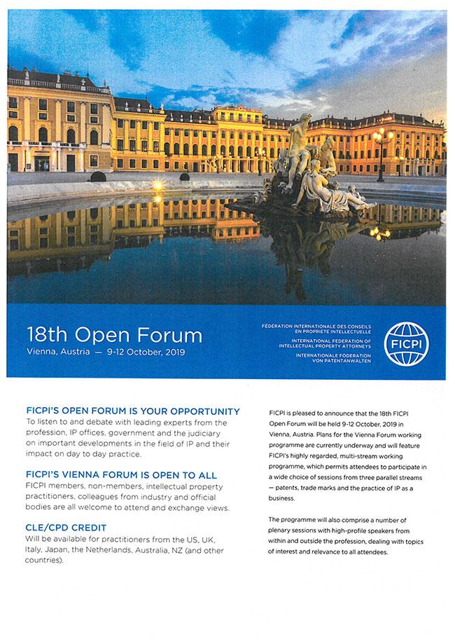 Aktuální akce: 18th Open Forum